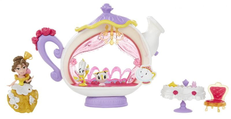 Disney Mini hrací set s panenkou - Bella