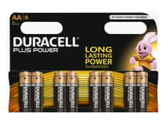 Duracell alkalne baterije Plus Power MN1500B8 AA, 8 kosov