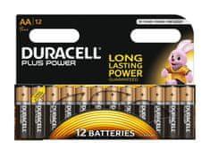 Duracell alkalne baterije Plus Power MN1500B12 AA, 12 kosov