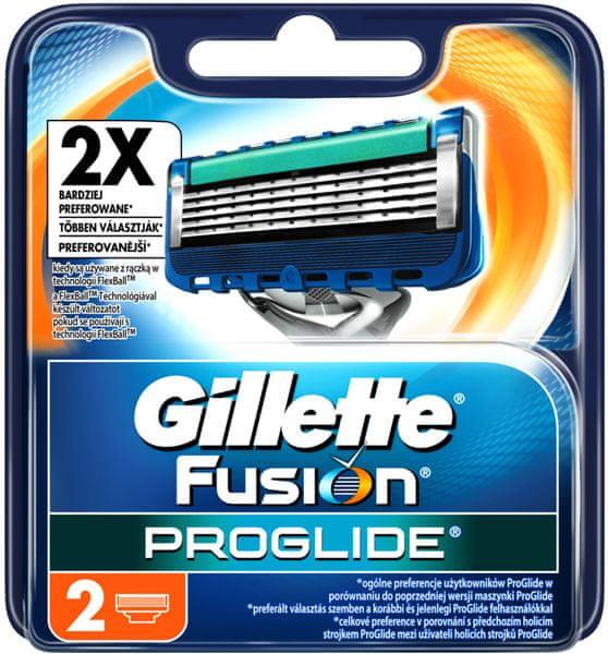 Gillette Fusion ProGlide Manual - náhradní hlavice 2 ks