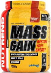 Nutrend Mass Gain 2250 g chocolate + cocoa