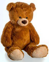 Teddies Medvěd plyš 100 cm světle hnědý