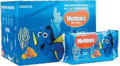 Huggies Chusteczki nawilżane Disney Natural Care 10x56 szt., Dory
