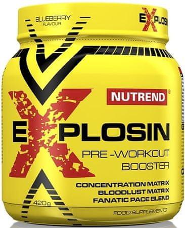 Nutrend Explosin 420 g čučoriedka
