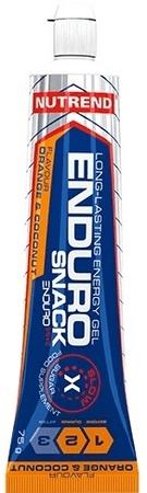 Nutrend Endurosnack 10 x 75 g pomeranč + kokos