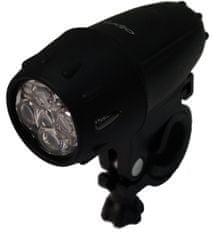 Olpran 5 LED predné, čierna