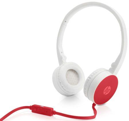 HP Słuchawki HP H2800 - Czerwone (W1Y21AA)