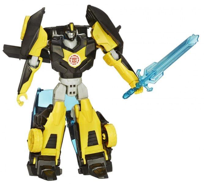 Transformers Rid s pohyblivými prvky Night Strike Bumblebee