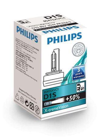 Philips Žarnica 85V-D1S XV-35W Xenon X-Treme Vision
