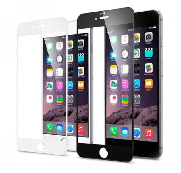 Fixed Full cover tvrzené sklo, iPhone 6/6S, bílé