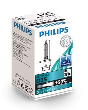 Philips žarnica 85V-D2S XV-35W Xenon X-Treme Vision