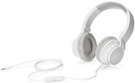 HP Stereo Headphone H3100 białe (T3U78AA)
