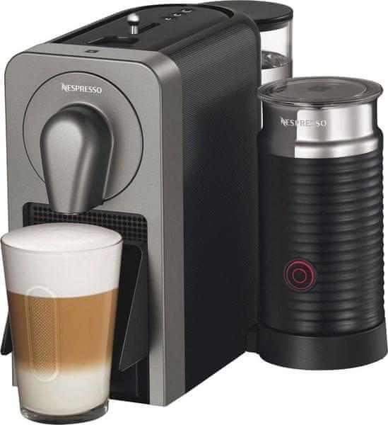 Nespresso Krups Prodigio & Milk XN411T + voucher na kávu ZDARMA!