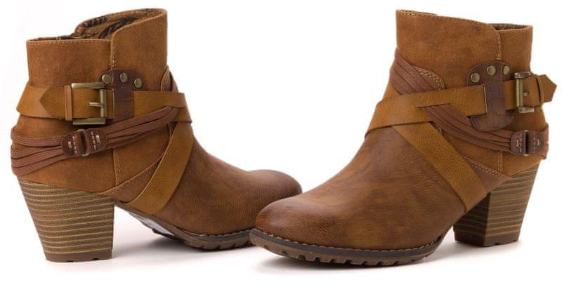 s.Oliver dámská kotníčková obuv 38 hnědá