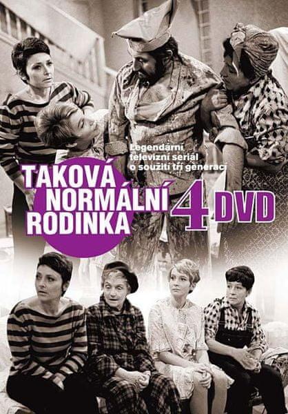Taková normální rodinka (4DVD) - DVD