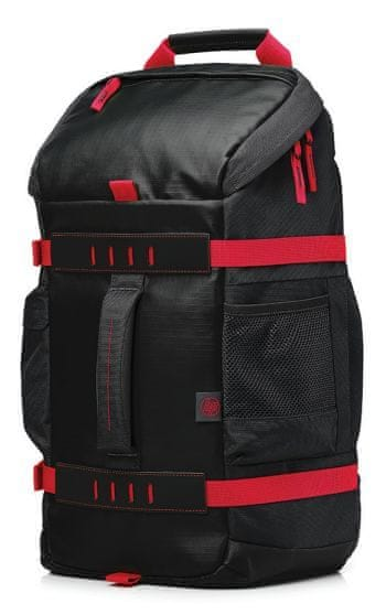 HP 15,6 Odyssey Sport Backpack black/red (X0R83AA)