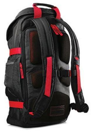 HP Odyssey 15.6 hátizsák fekete piros  9fdfabfee9