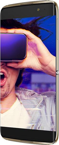 Alcatel IDOL 4S, 6070K, zlatý + VR BOX