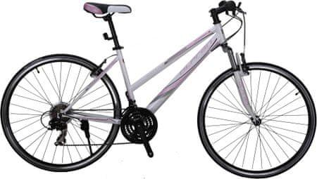 "Olpran rower crossowy Ariane 28"" W white/pink"
