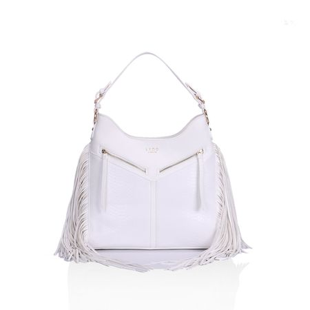Lydc ženska ročna torbica bela