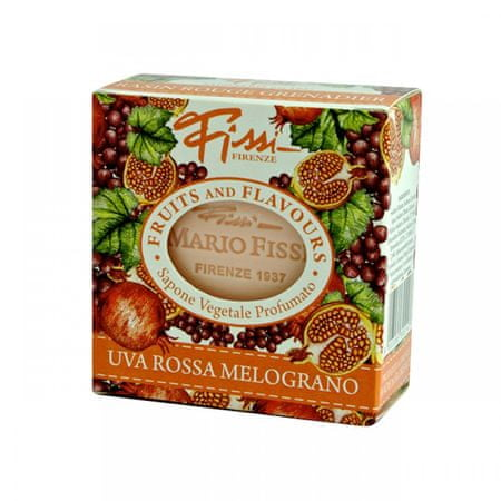 Fissi toaletno milo Fruits and flavours, sadno/cvetno, 100 g