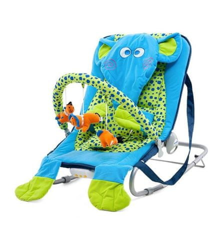Chipolino Baby Bouncer Dumbo elefánt pihenőszék