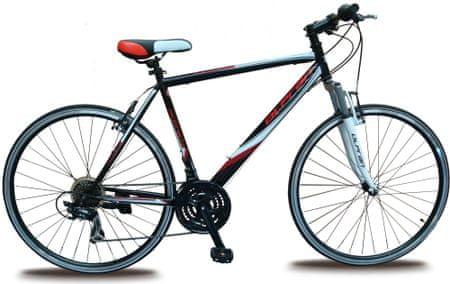 "Olpran Ariane 28"" Férfi kerékpár, Fekete/Fehér/Piros, 19"""