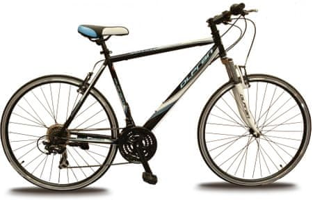 "Olpran rower crossowy Ariane 28"" M black/white/blue 21"""
