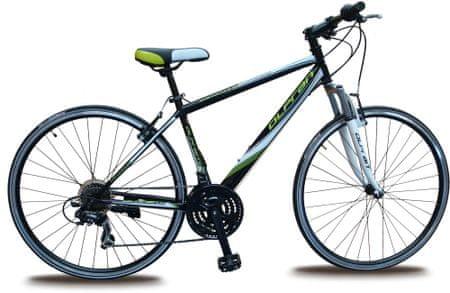 "Olpran Ariane 28"" Férfi Kerékpár, Fekete/Zöld, 19"""