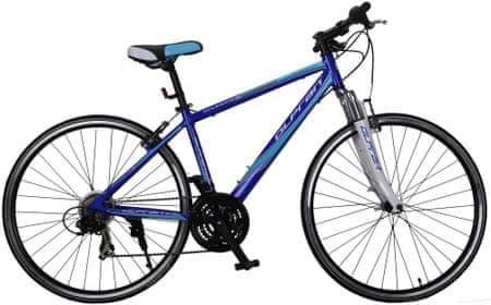"Olpran rower crossowy Atlantis 28"" M blue/white 21"""