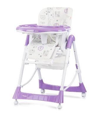 Chipolino Comfort Plus etetőszék, Lavender
