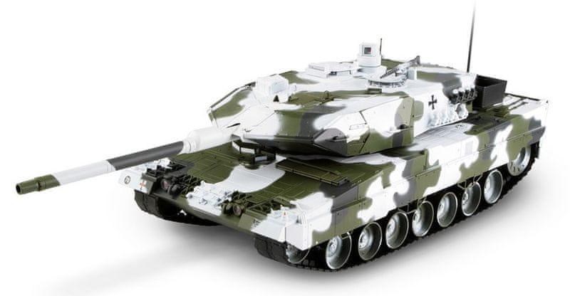 Hobby Engine RC Tank - Leopard 2A6 1:16, 27MHz, zimní verze
