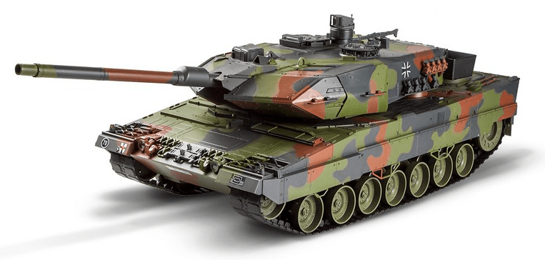 Hobby Engine RC Tank - Leopard 2A6 1:16, 2.4GHz