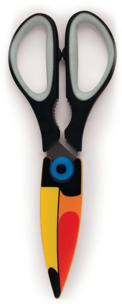 Kikkerland Kuchyňské nůžky Tukan