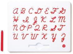 Montessori Magnetická tabuľka - Veľké písacie písmo