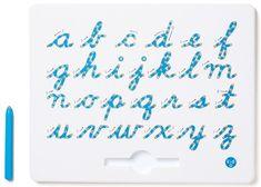 Montessori Magnetická tabuľka - Malé písacie písmo