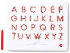Montessori Magnetyczna tablica - Litery