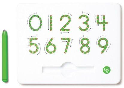 Montessori pomůcky Magnetická tabulka - Číslice