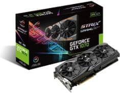 Asus grafična kartica GTX 1070, 8GB GDDR5, PCI-E 3.0 (STRIX-GTX1070-O8G-GAMING)