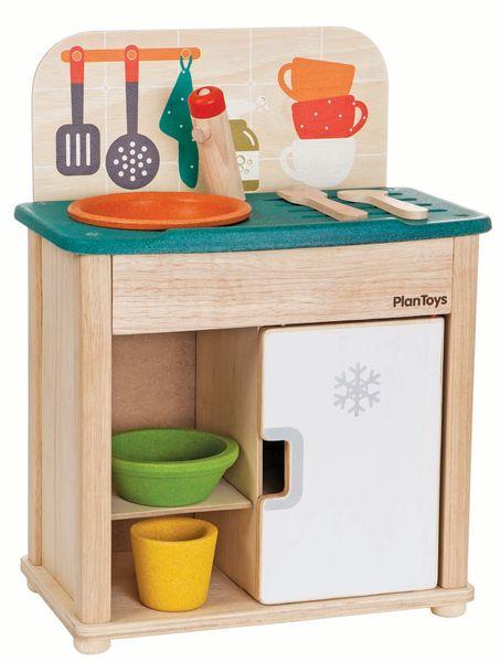 Plan Toys Dřez a lednička