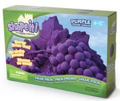 Montessori pomůcky Shape it! písek - fialový (2,3 kg)