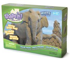 Montessori Shape it! písek - bílý (2,3 kg)