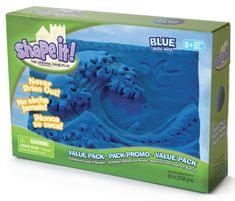 Montessori pomůcky Shape it! písek - modrý (2,3 kg)