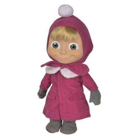 SIMBA Masza lalka 40 cm miękka mrugająca