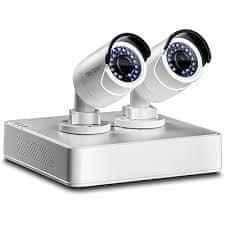 TrendNet mrežni video snemalnik TV-NVR104 4-kanalni 1080p HD PoE (NVR) kit (2x TV-IP320PI & 1 TB HD)