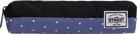 Street okrogla peresnica Tube Dots modro/črna
