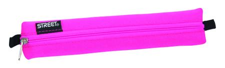 Street okrugla pernica Tube, roza