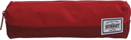 Street okrugla pernica Tube Cherry, crvena