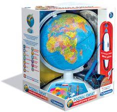 Clementoni Interaktywny Eduglobus Poznaj Świat (60903)