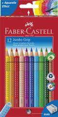 Faber Castell GRIP barvice Fc Grip Jumbo, 12/1 + šilček